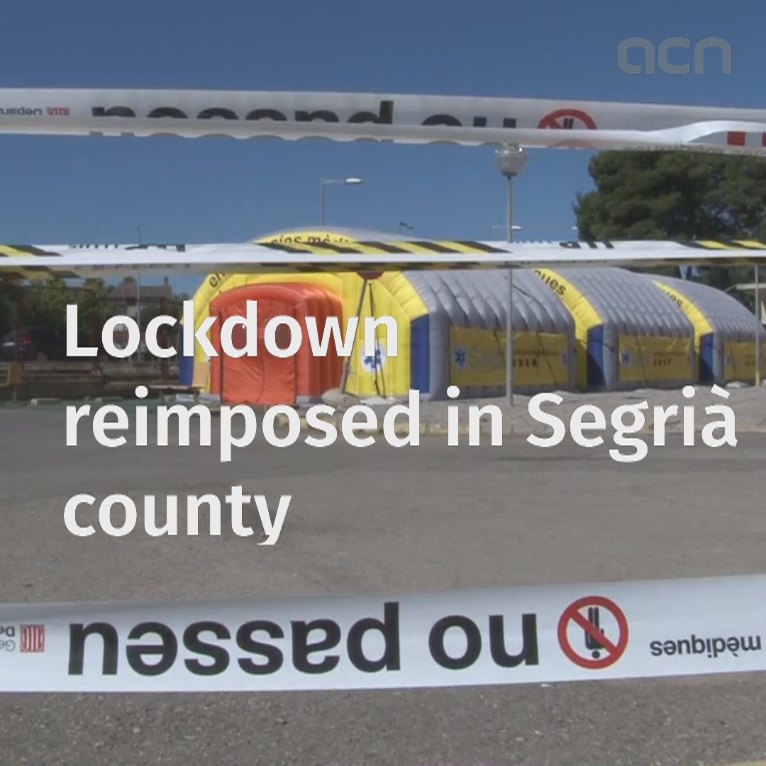 Lockdown reimposed in Segrià county