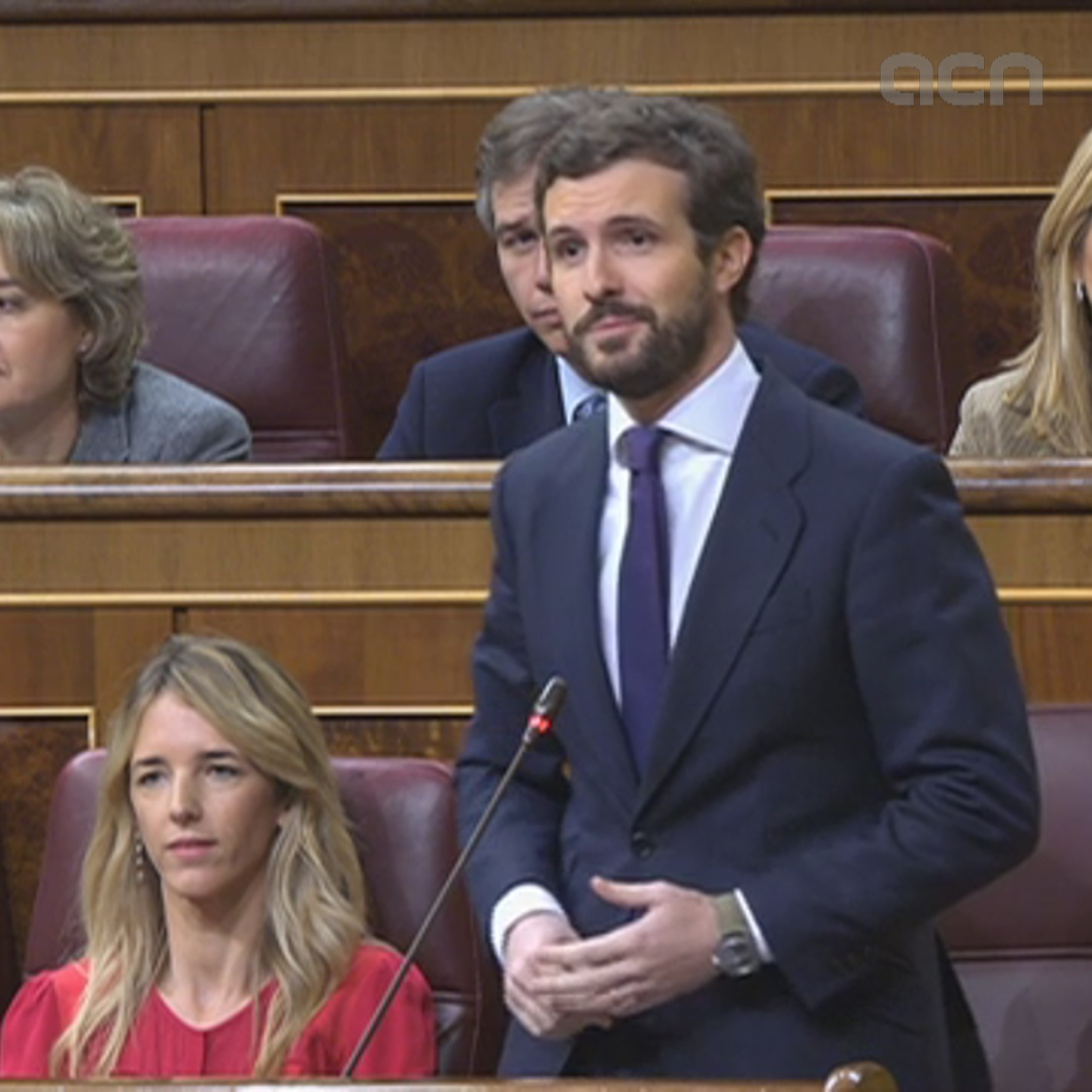 Pablo Casado says health minister to negotiate with 'pro-independence virus'