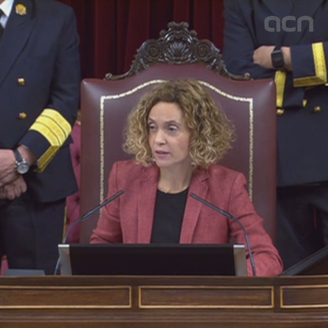 Batet invokes 'loyal dialogue' in opening speech as congress speaker