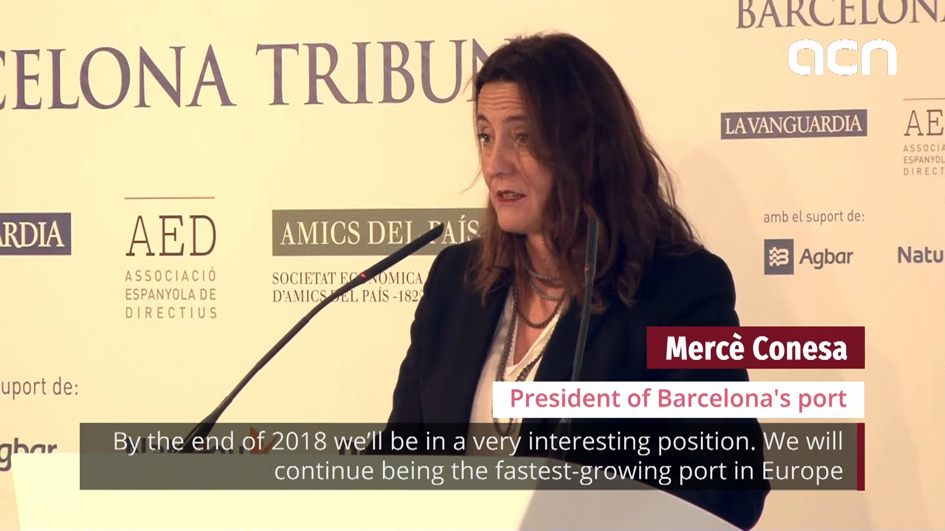 Barcelona remains as fastest-growing port in Europe, says president