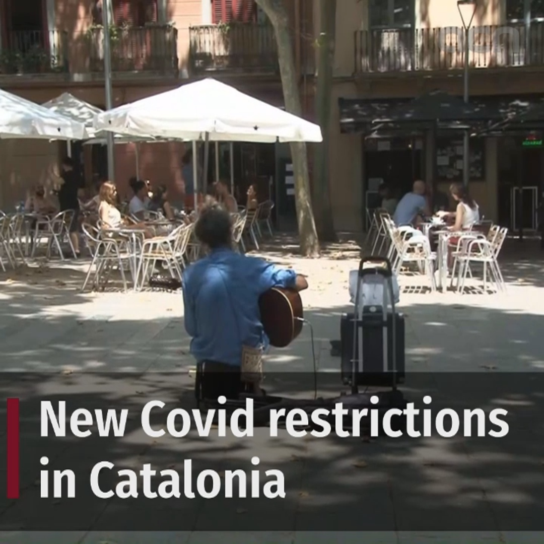 New Covid restrictions in Catalonia