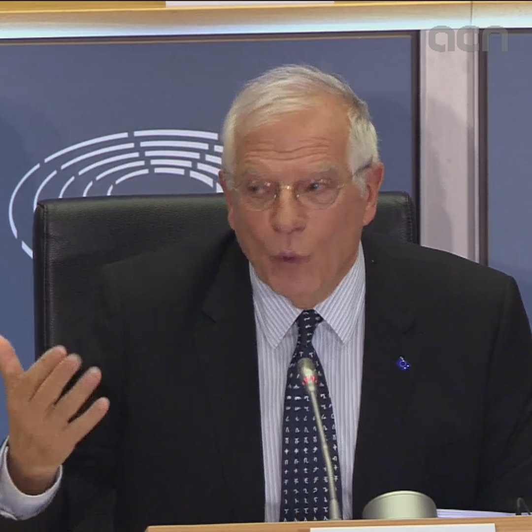Borrell: 'I'm not commenting on a country's internal affairs, including mine'