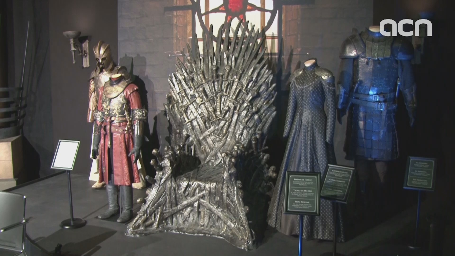 'Game of Thrones' exhibition starts world tour at Barcelona's Maritime Museum