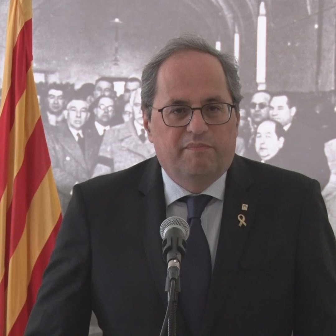 Quim Torra affirms his position as a Catalan MP and president of the country