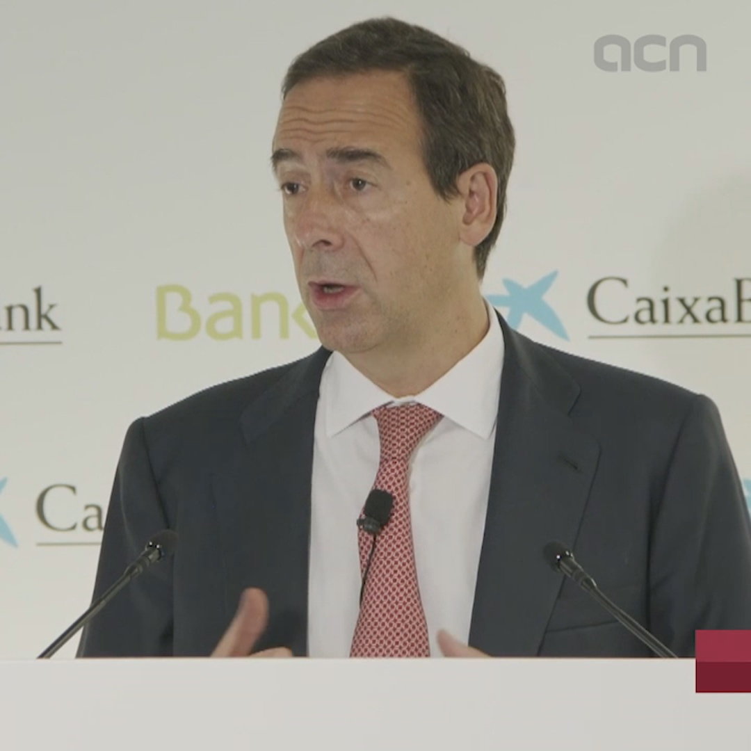 Caixabank CEO says Bankia merger will mean combined 20 million clients