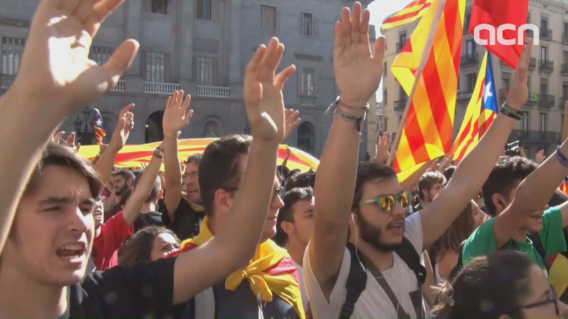 Thousands march in student protest throughout Catalonia