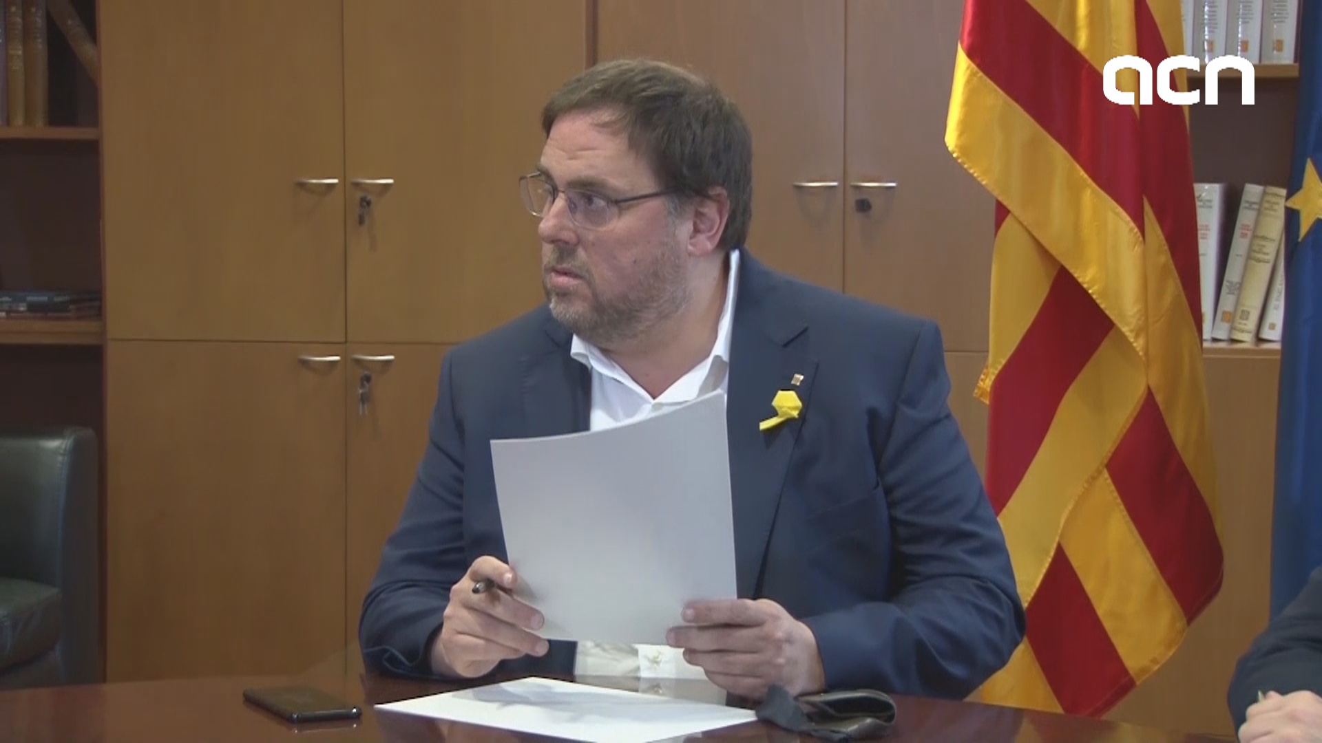 Junqueras demands gesture from Spain to negotiate budget