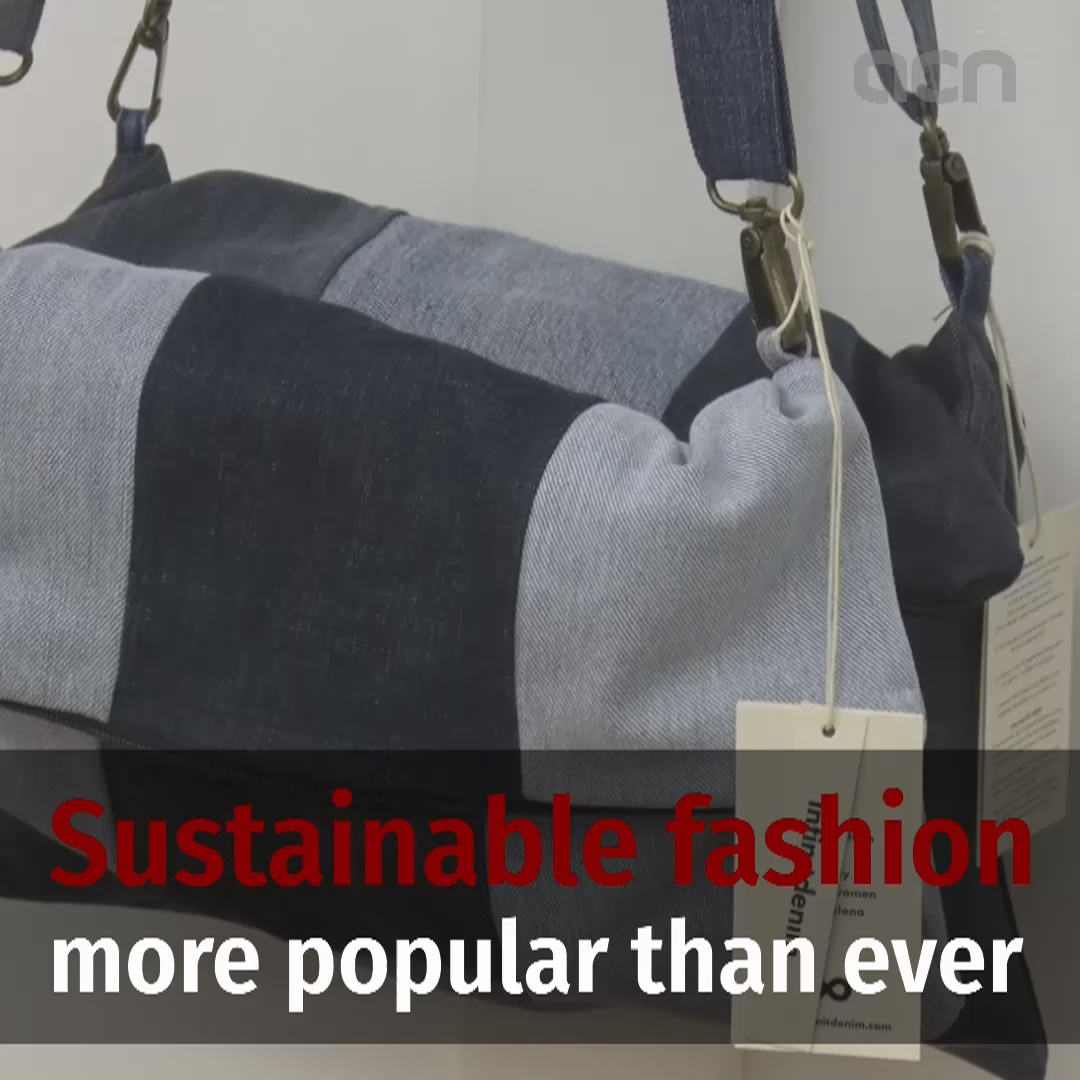 Sustainable fashion more popular than ever