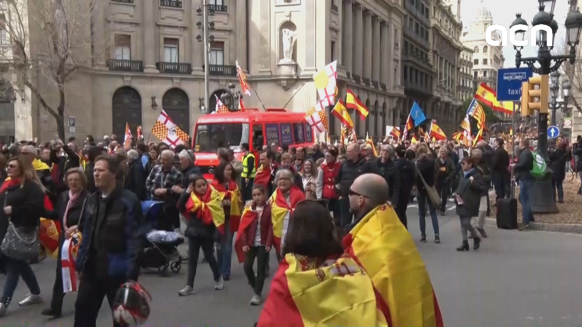 Tabarnia takes to the streets