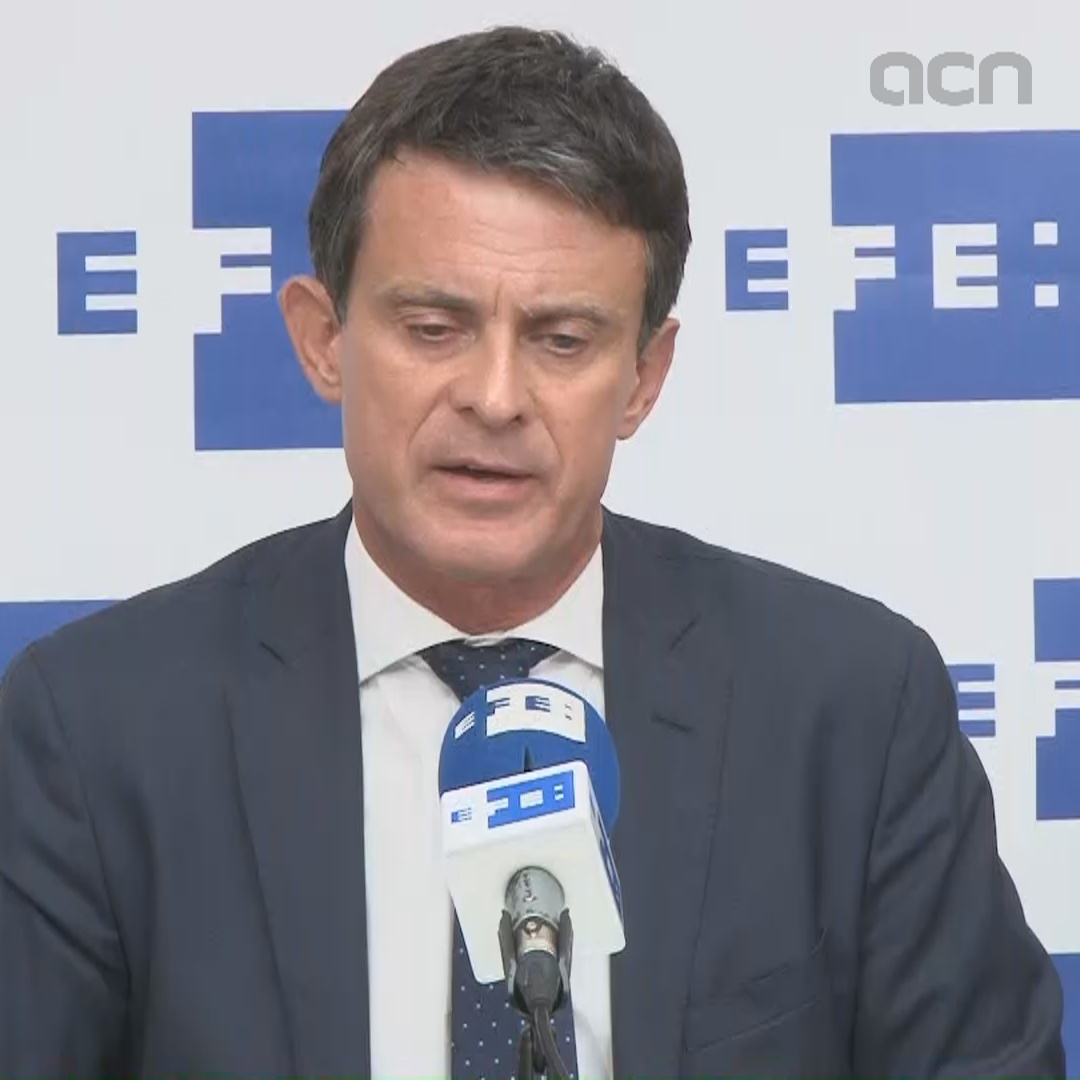 Valls says Spain is setting a good example