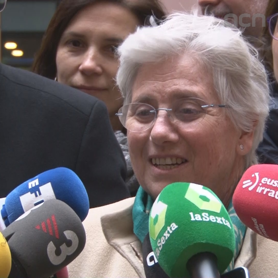 MEP Ponsatí to work 'in favor of our country's independence'