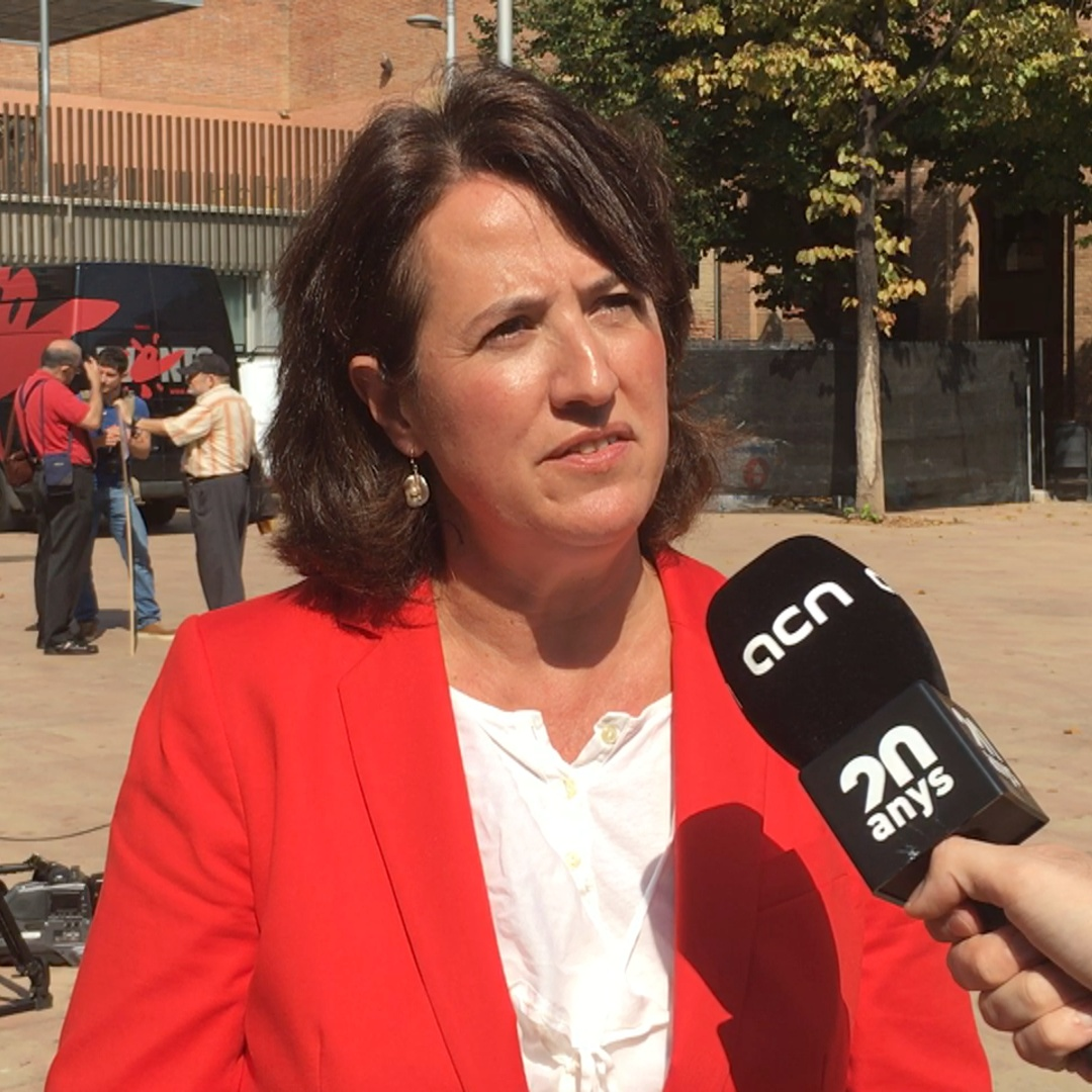Catalan National Assembly head says Catalans will 'mobilize united with dignity'