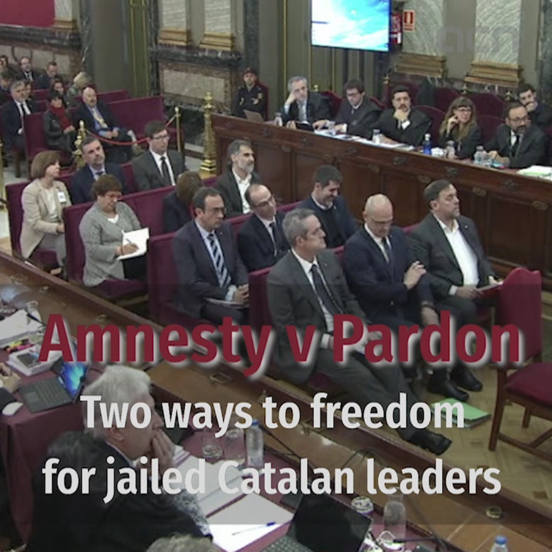 Amnesty v Pardons: two ways to freedom for jailed Catalan leaders