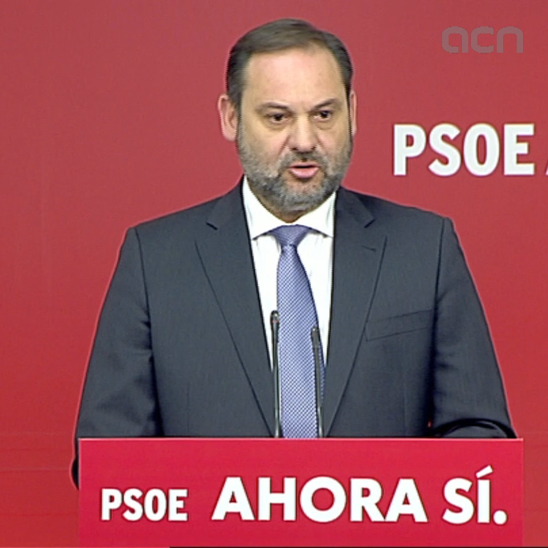 Socialists' Ábalos says party is 'committed to Spain having a progressive government'