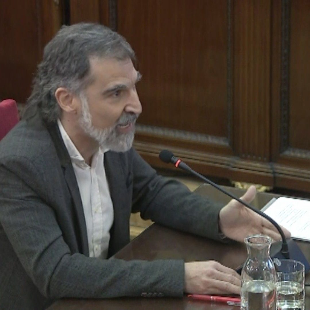 Cuixart: 'We'll never renounce fundamental rights'