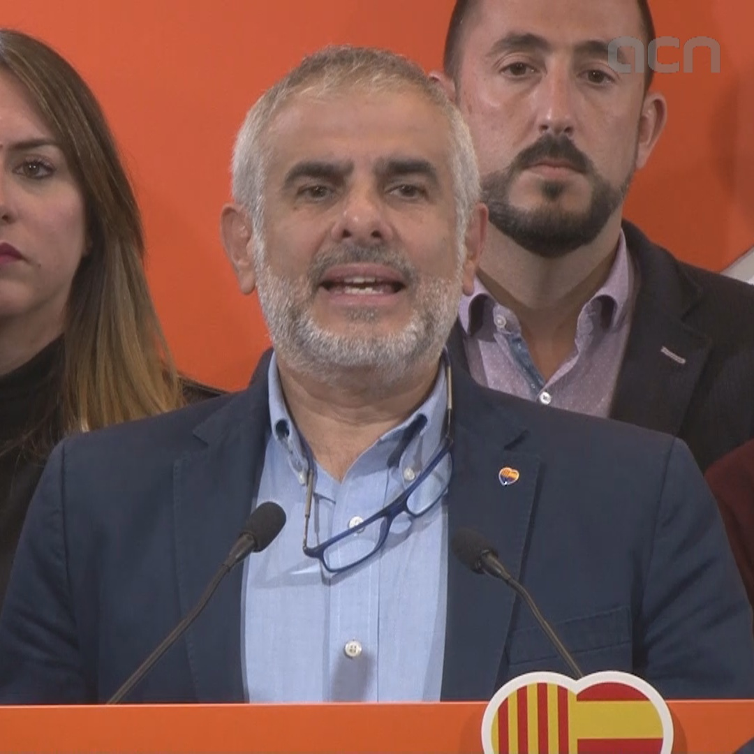Ciutadans' Carrizosa addresses his party's significant loss in Spain's general election