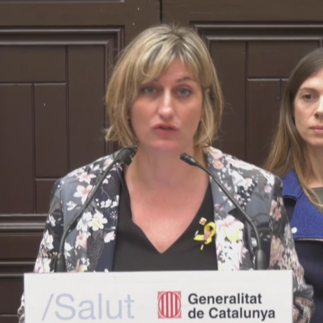 'We don't understand' confiscation of healthcare material says Catalan health minister