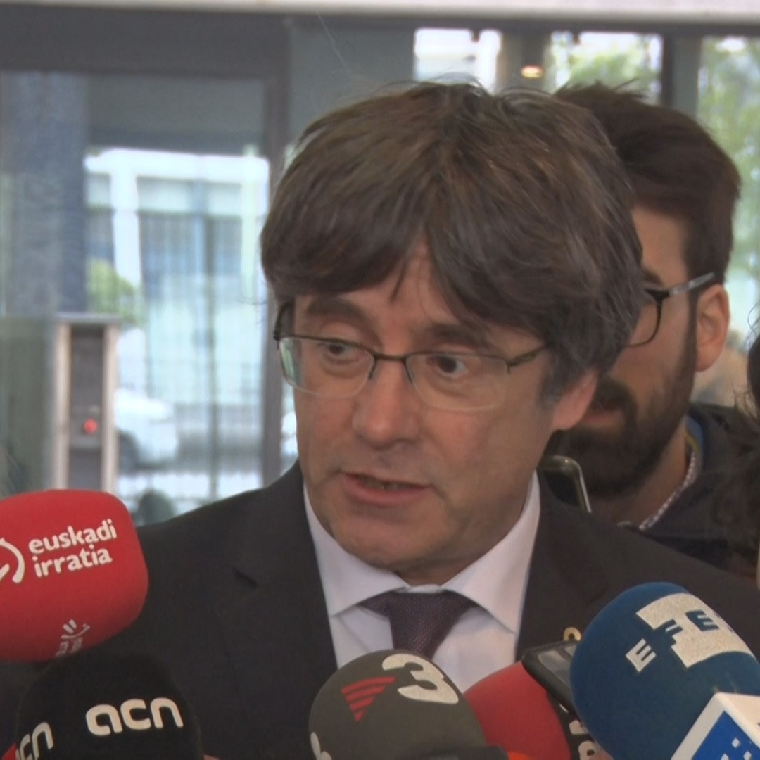 Carles Puigdemont explains his conditions for freedom granted by a Belgian judge