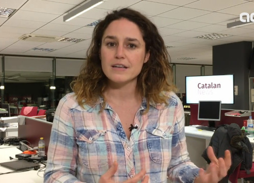Virginia Sánchez of Casa Nostra Casa Vostra at the Catalan News Agency (by ACN)