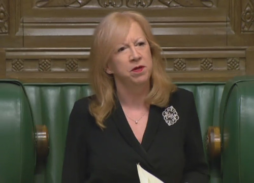 The Deputy Speaker of the House of Commons in the UK, Eleanor Laing