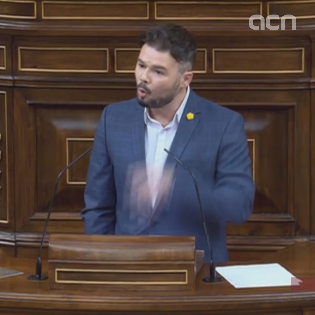 Spanish government 'possibly definitively' refused to negotiate with ERC, Rufián says