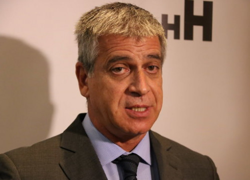 Jordi Mestre, president of the Barcelona Hotel Association, on October 3, 2019 (by Aina Martí)