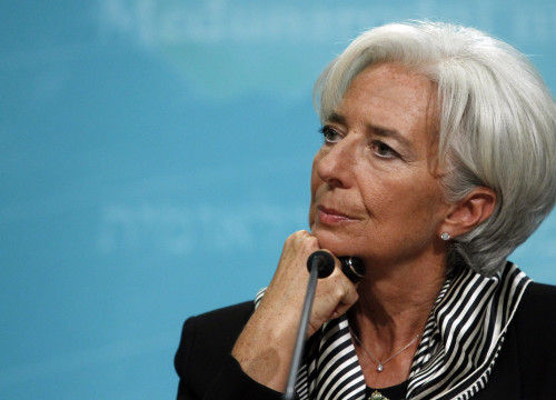 IMF's director, Christine Lagarde (by ACN)
