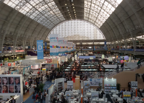 General view of London Book Fair 2016, at Olympia (by ACN)