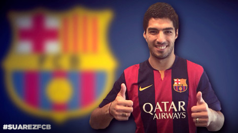 The Uruguayan will be a Barça player after the agreement between FC Barcelona and Liverpool (by FCB)