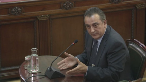 Manuel Castellví completed his testimony at the Supreme Court on Monday