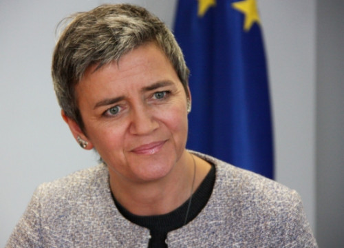 The new European Commissionner for Competition, Margrethe Vestager (by A. Casino)