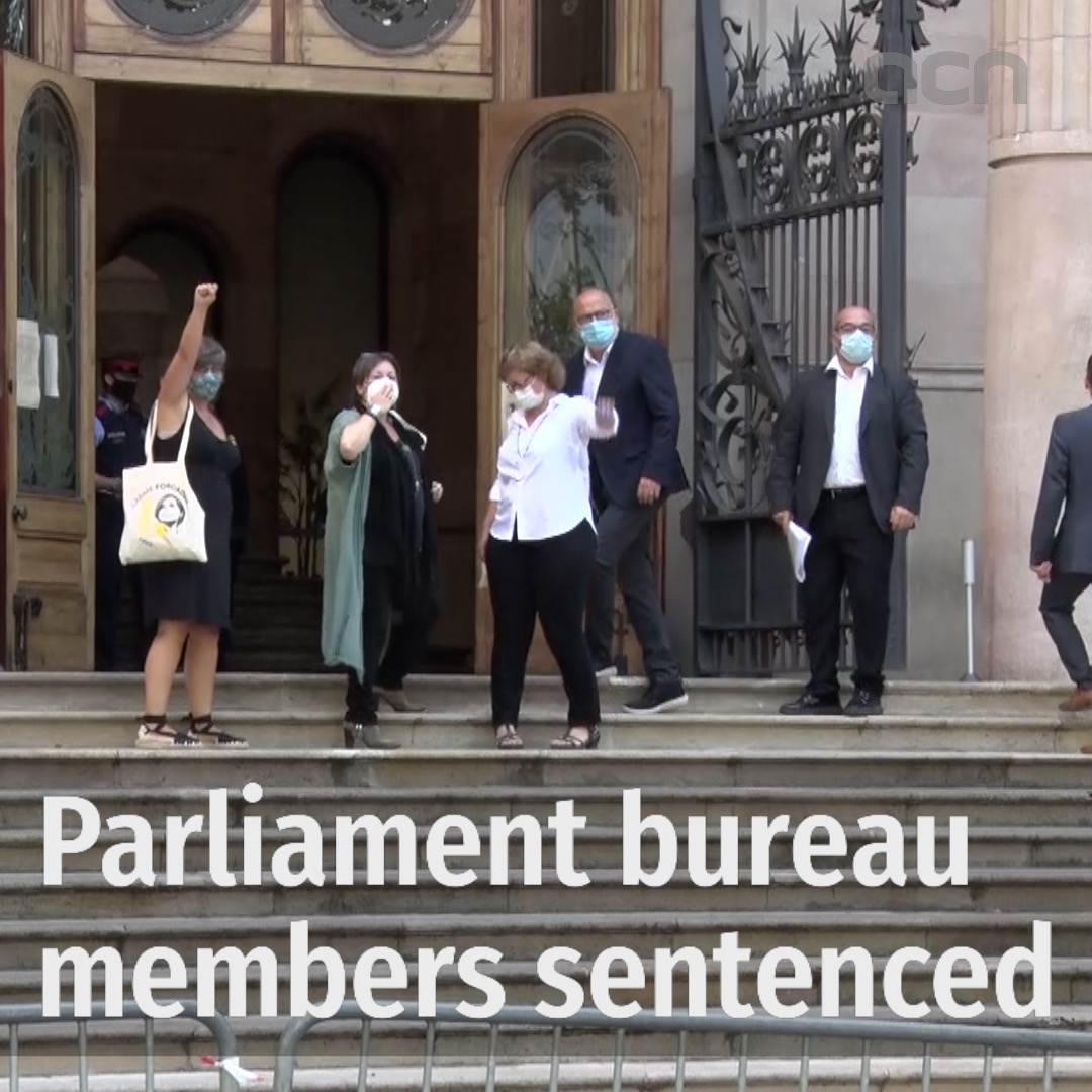 Parliament bureau members sentenced