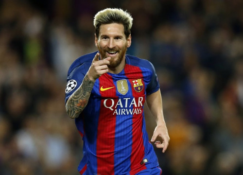 Leo Messi was unstoppable on Wednesday night at Camp Nou (by FCB)