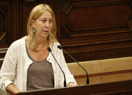 Catalan Government's spokeswoman, Neus Munté (by ACN)
