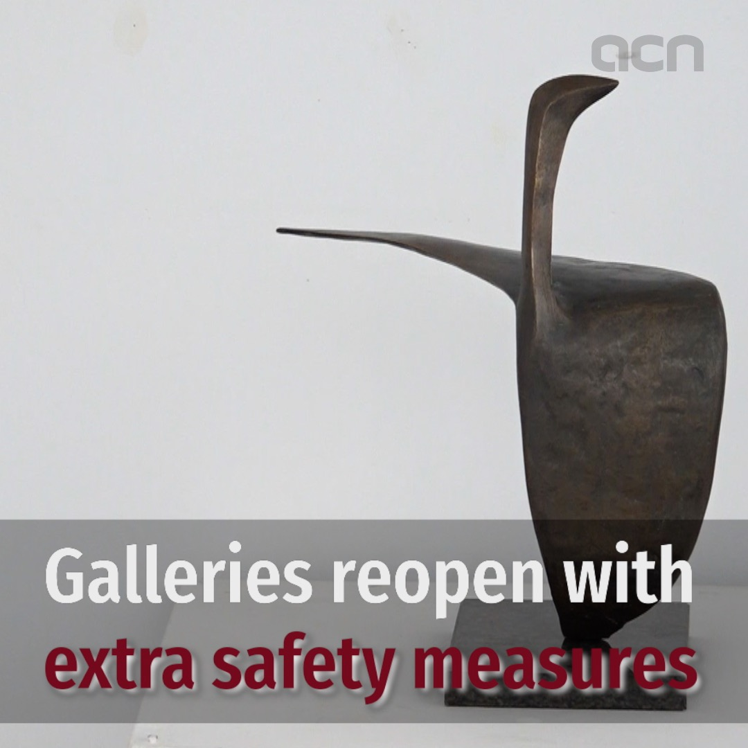 Galleries reopen in Phase 1 with extra safety measures