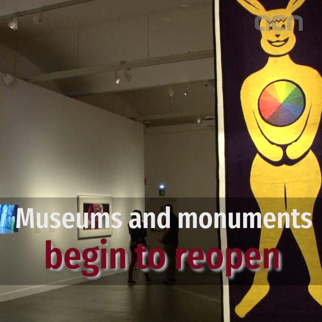 Museums and monuments begin to reopen