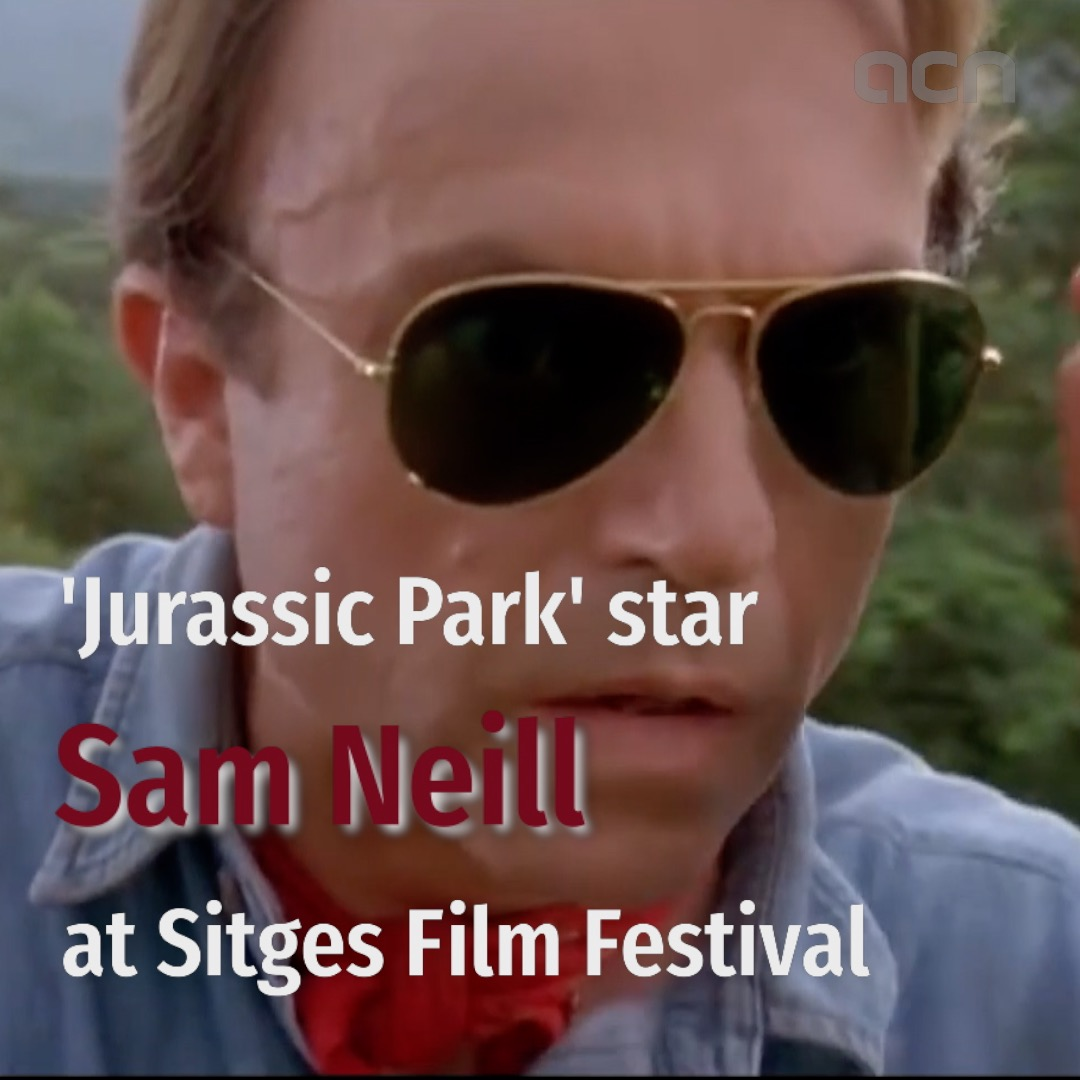 'Jurassic Park' star Sam Neill at Sitges Film Festival