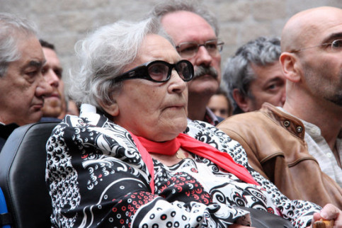 Neus Català, Catalan survivor of the Ravensbrück concentration camp in 2010 (by ACNl)