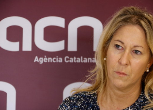 Catalan Government Spokeswoman, Neus Munté, during the interview with the ACN on the 7th of December 2016 (by ACN)