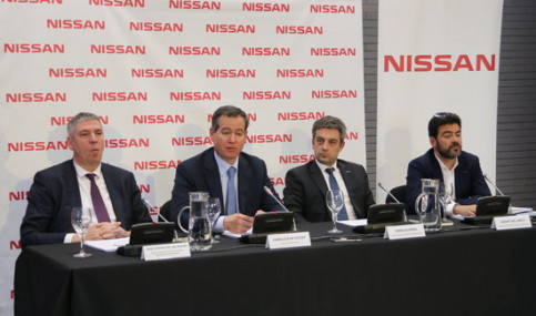 Nissan press conference on March 26 2019 (by Àlex Recolons)