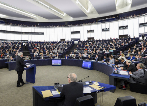 Image of the European Parliament (by ACN)