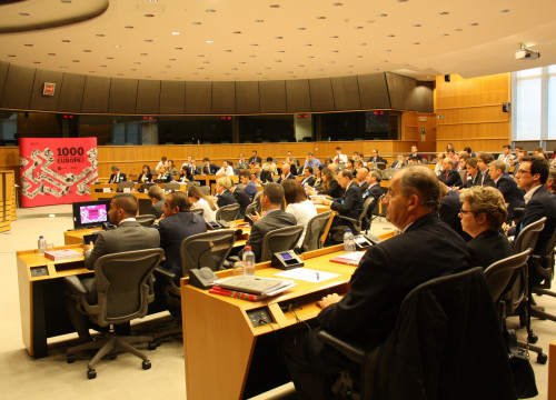 Presentation of the book '100 companies to inspire Europe' in Brussels (by ACN)