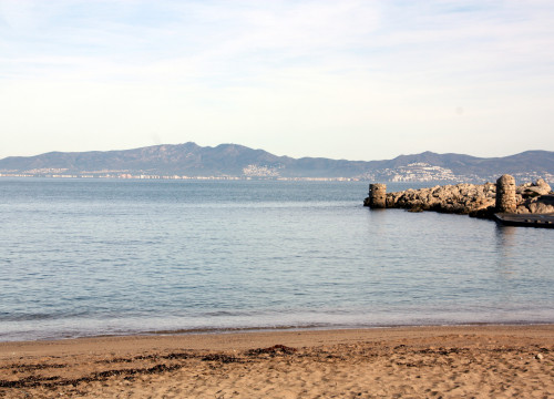 Image of the Gulf of Roses, the most northeastern bay on the Catalan coast (by ACN)