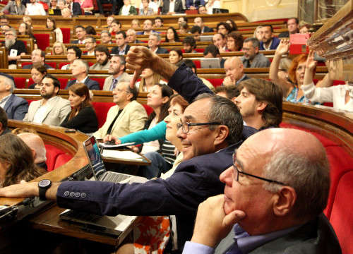 MPs voting in the Parliament's session (by ACN)