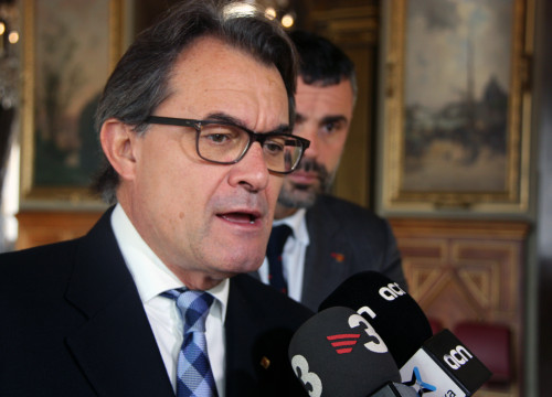 Former Catalan President, Artur Mas at his arrival at Paris' Town Hall in a picture from December (by ACN)