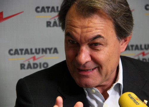 President Mas's interview at Catalunya Radio this morning (by ACN)