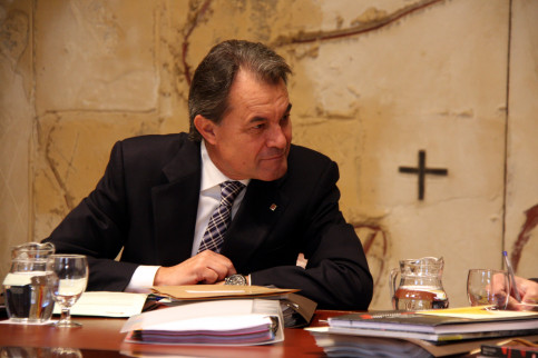Image of current Catalan President, Artur Mas (by ACN)