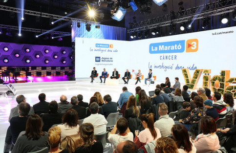 Press conference for the 27th edition of La Marató telethon on 13 December, 2018 (by CCMA)