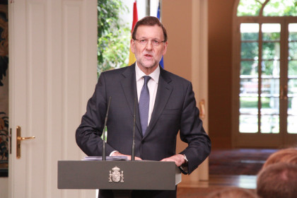 "Spanish Prime Minister, Mariano Rajoy, says Spanish Elections will be held ""most probably"" on the 20th December"