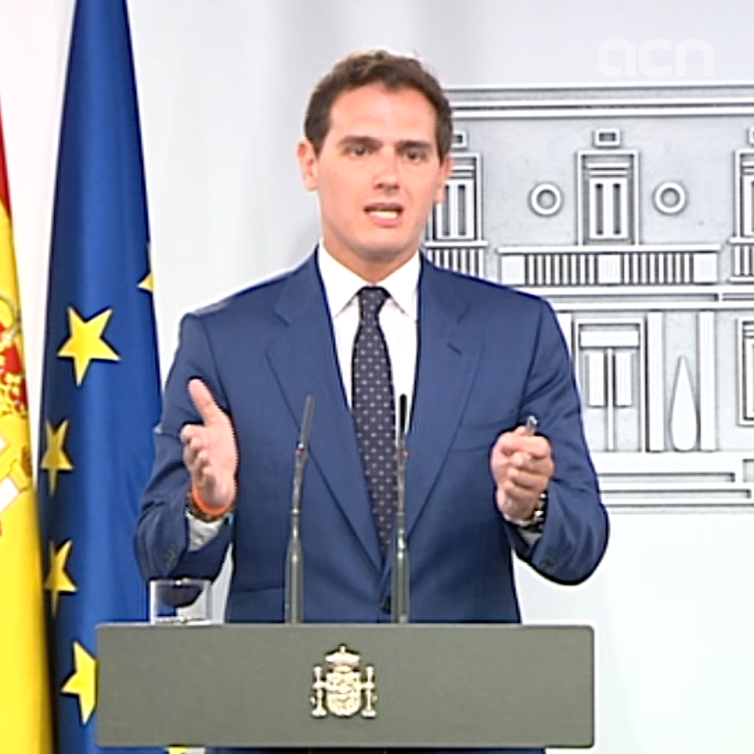 Cs offers to Socialists their 'MPs and senators to apply direct rule 155 in Catalonia'